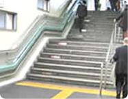 既存の階段に取り付けるだけ