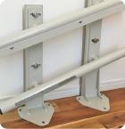 レール鋼製支柱